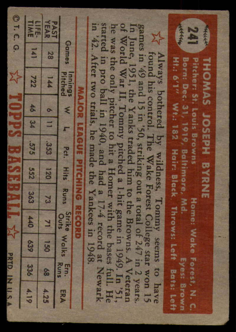 1952-Topps-Baseball-241-407-Complete-your-set-Pick-your-card thumbnail 11