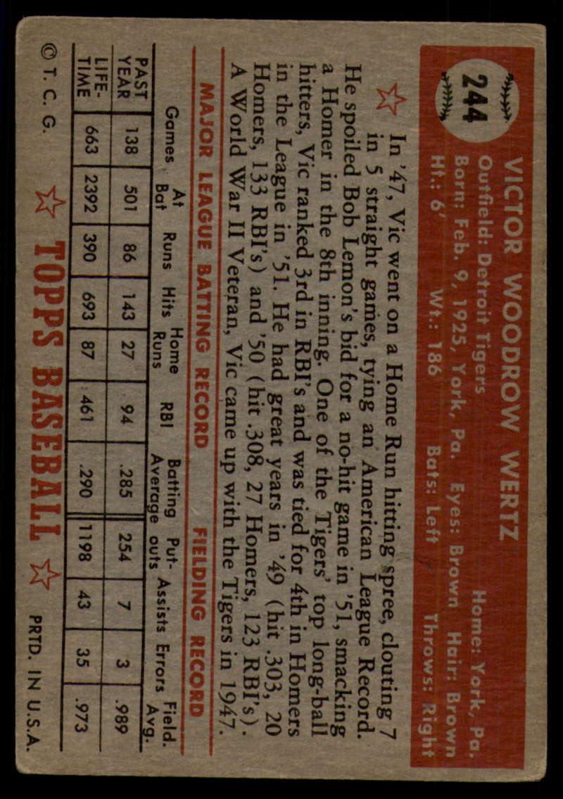 1952-Topps-Baseball-241-407-Complete-your-set-Pick-your-card thumbnail 25