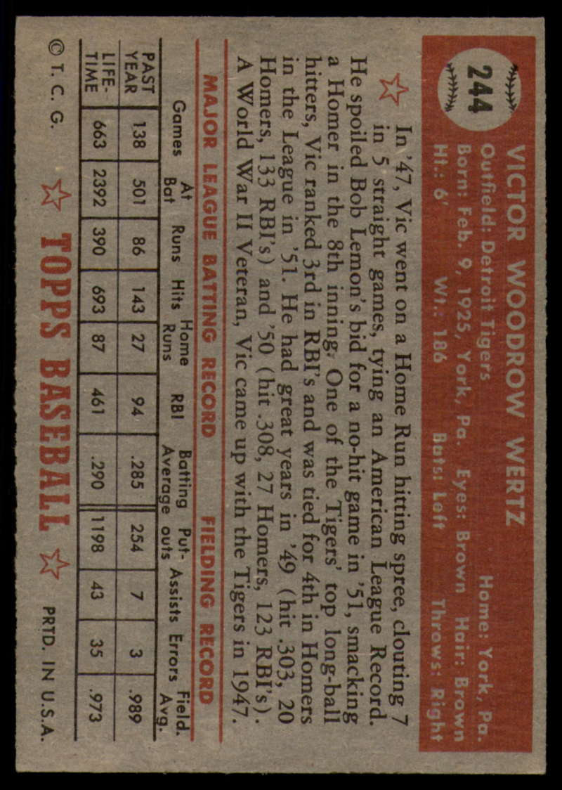 1952-Topps-Baseball-241-407-Complete-your-set-Pick-your-card thumbnail 27