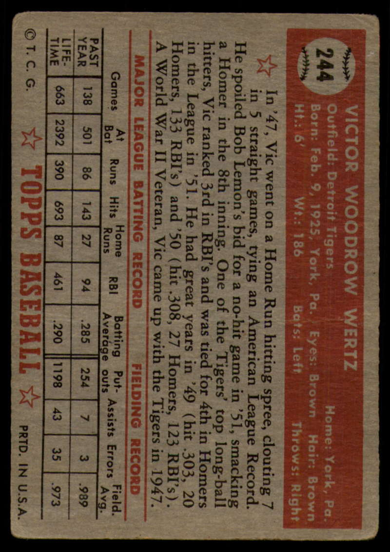 1952-Topps-Baseball-241-407-Complete-your-set-Pick-your-card thumbnail 29