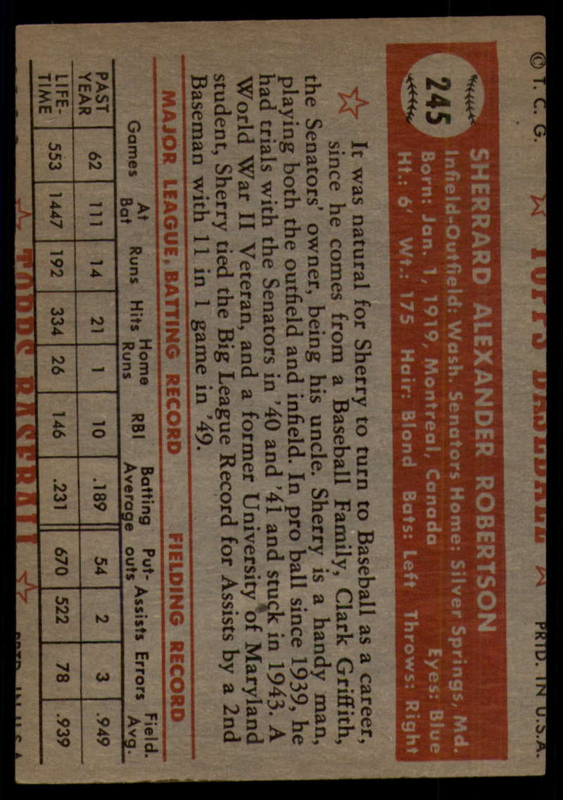 1952-Topps-Baseball-241-407-Complete-your-set-Pick-your-card thumbnail 33