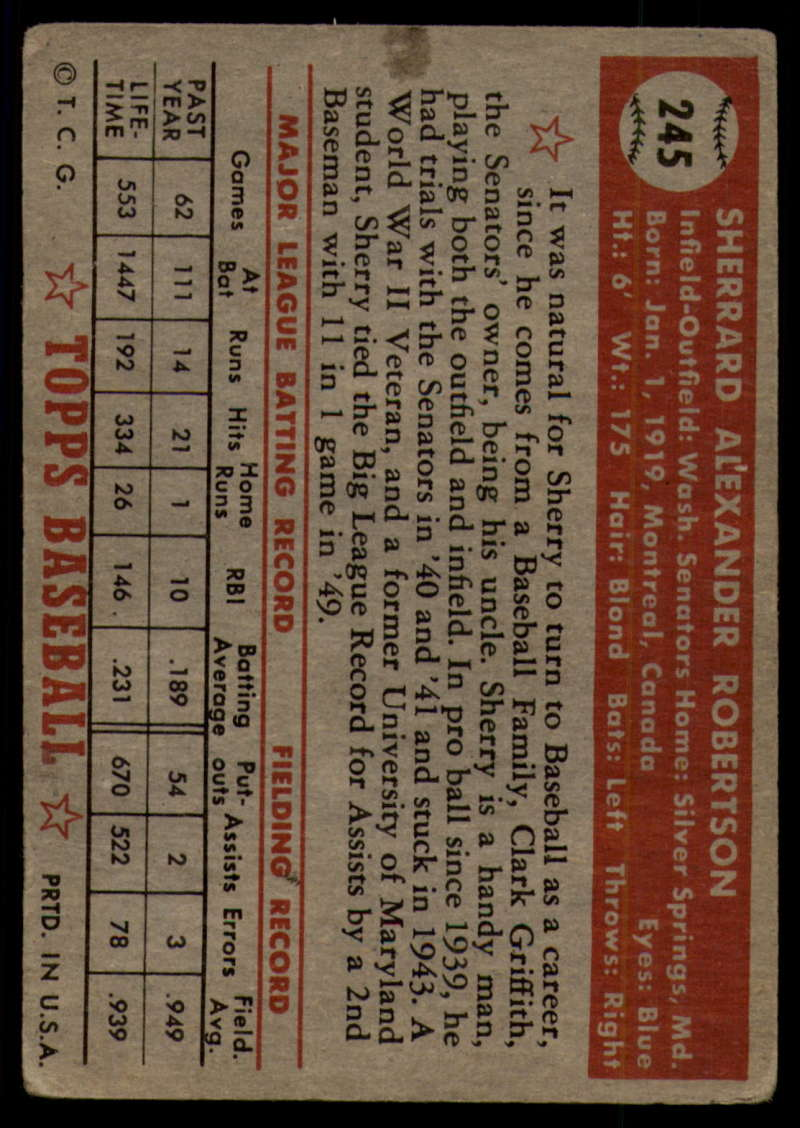 1952-Topps-Baseball-241-407-Complete-your-set-Pick-your-card thumbnail 35