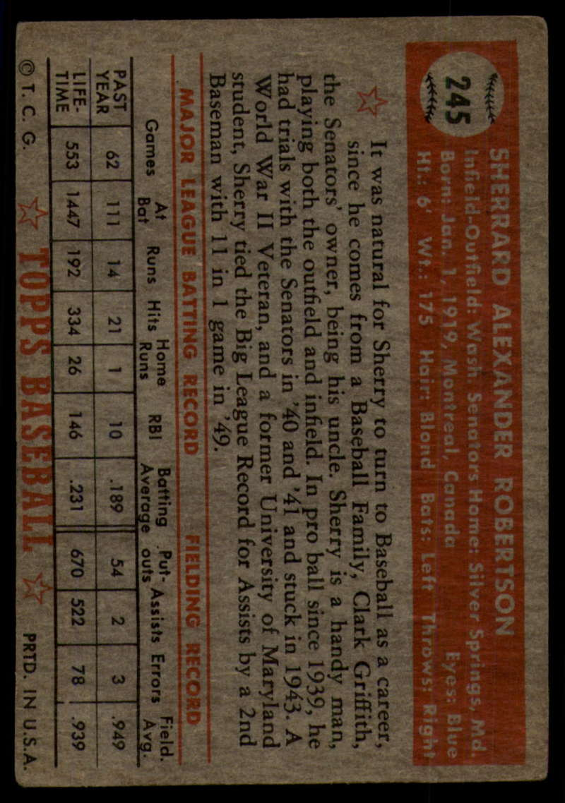 1952-Topps-Baseball-241-407-Complete-your-set-Pick-your-card thumbnail 37