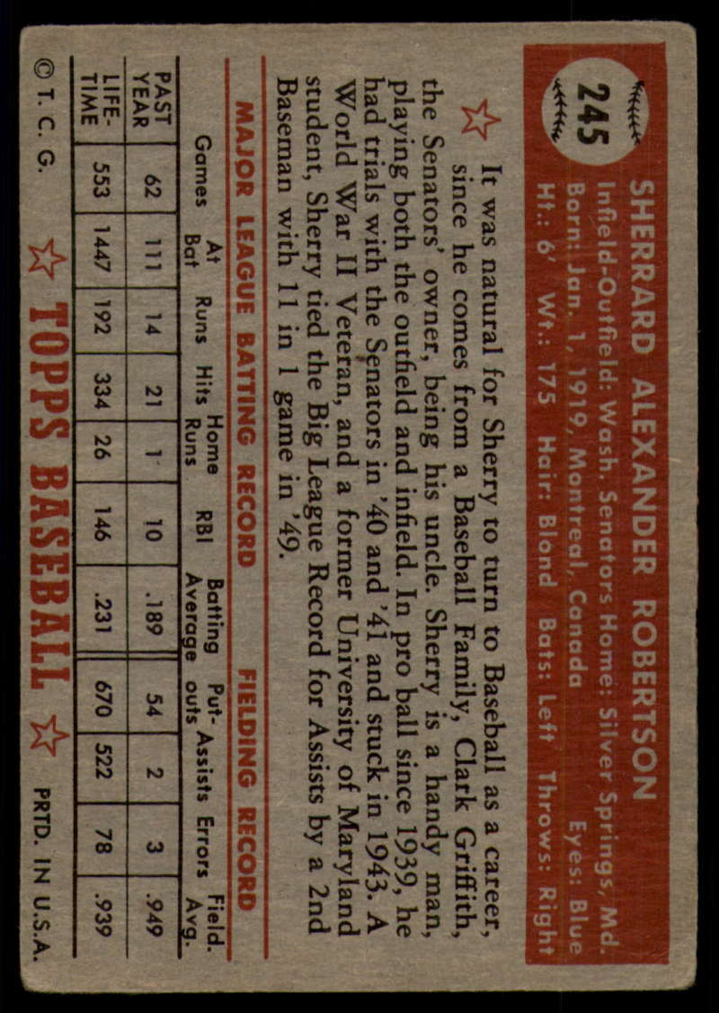 1952-Topps-Baseball-241-407-Complete-your-set-Pick-your-card thumbnail 39