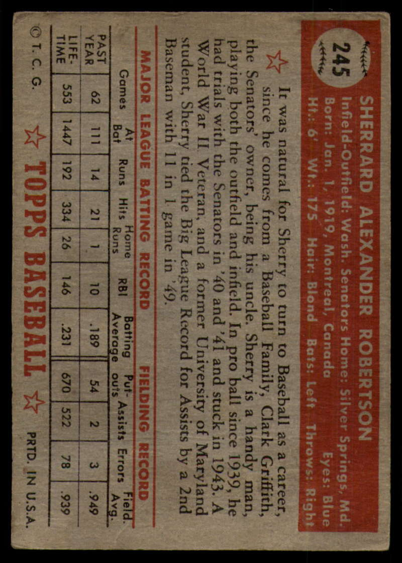 1952-Topps-Baseball-241-407-Complete-your-set-Pick-your-card thumbnail 43