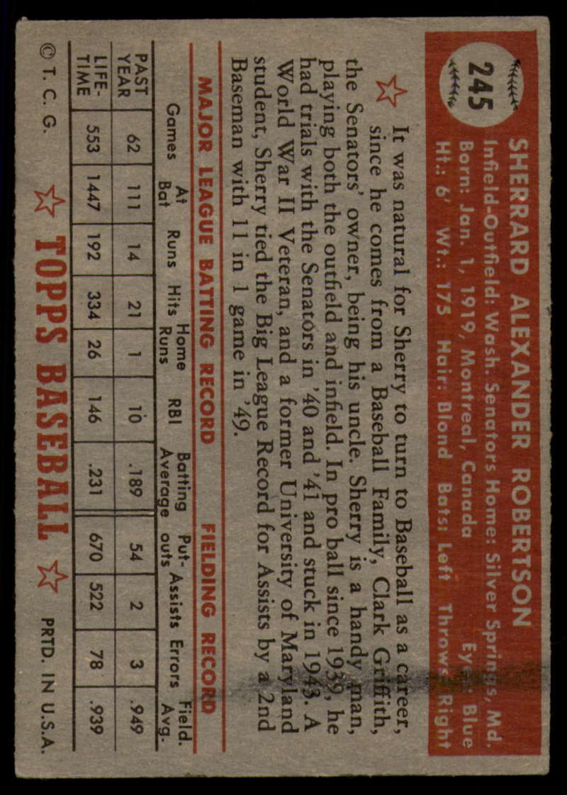 1952-Topps-Baseball-241-407-Complete-your-set-Pick-your-card thumbnail 45