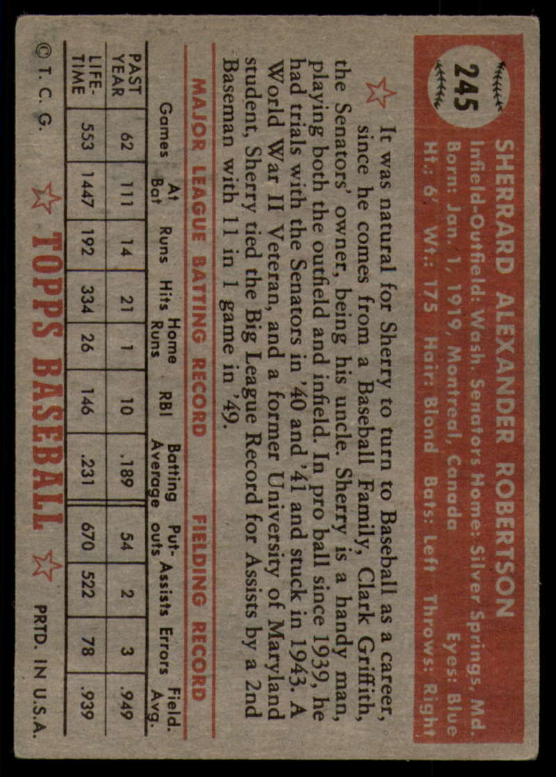 1952-Topps-Baseball-241-407-Complete-your-set-Pick-your-card thumbnail 47