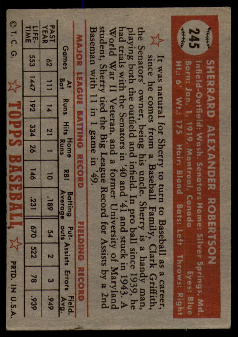 1952-Topps-Baseball-241-407-Complete-your-set-Pick-your-card thumbnail 49