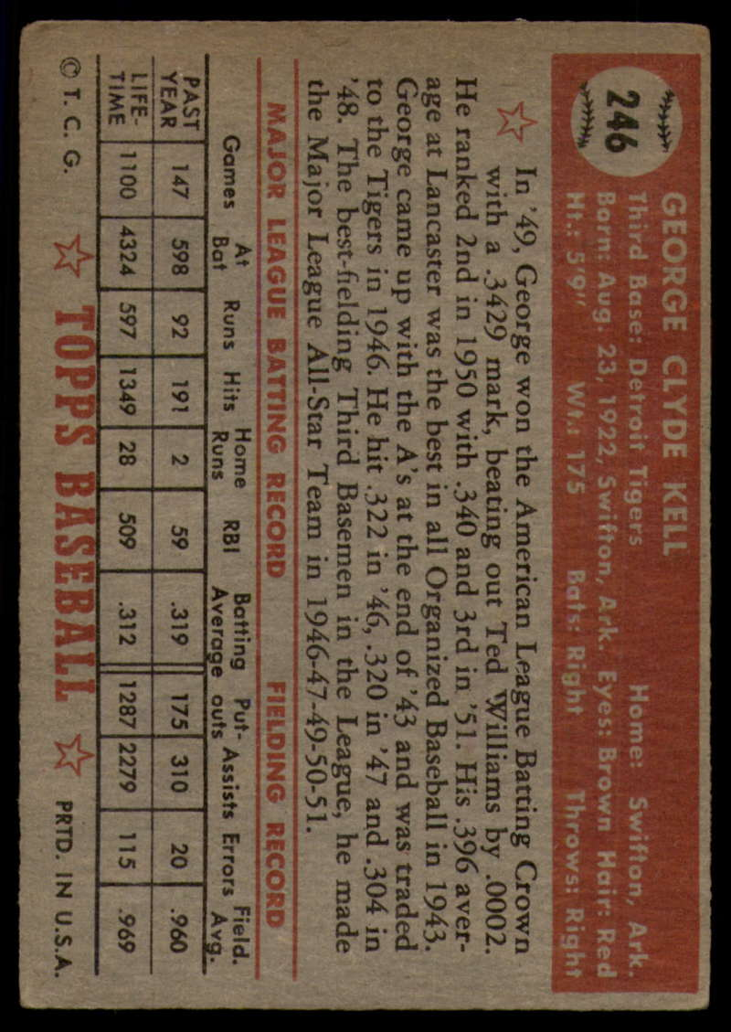 1952-Topps-Baseball-241-407-Complete-your-set-Pick-your-card thumbnail 51