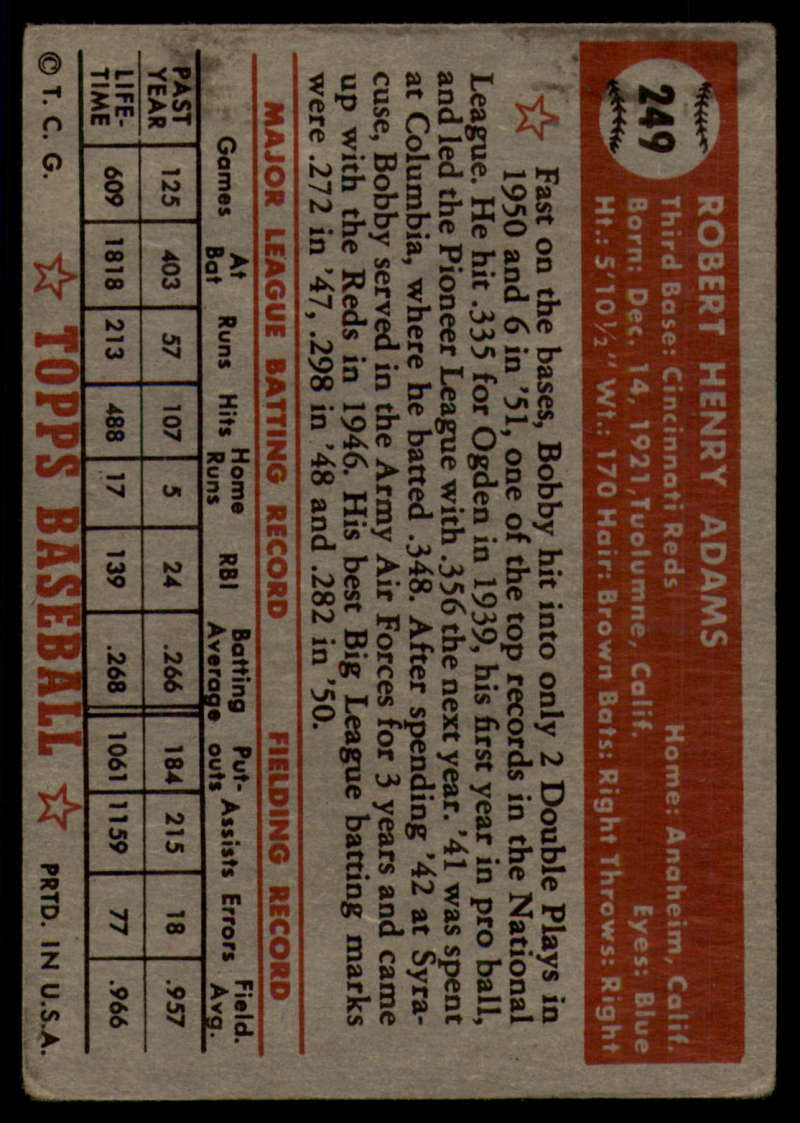 1952-Topps-Baseball-241-407-Complete-your-set-Pick-your-card thumbnail 71