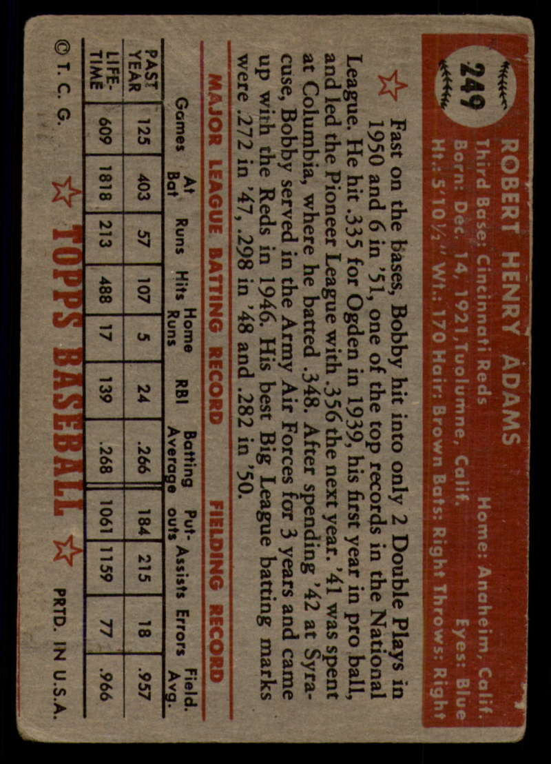 1952-Topps-Baseball-241-407-Complete-your-set-Pick-your-card thumbnail 79
