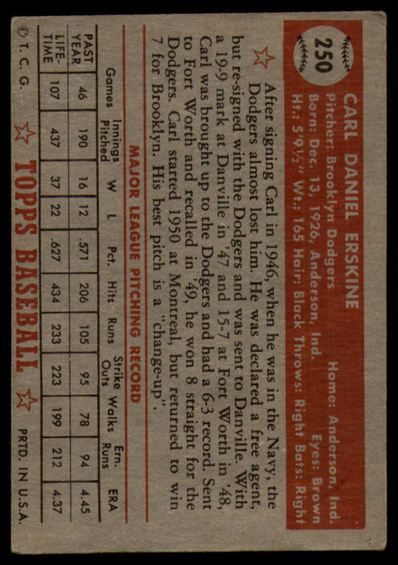 1952-Topps-Baseball-241-407-Complete-your-set-Pick-your-card thumbnail 85