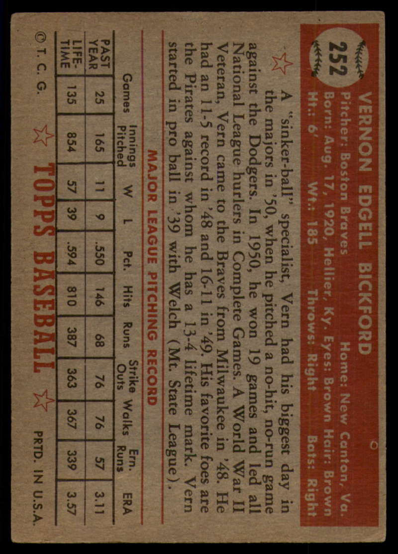 1952-Topps-Baseball-241-407-Complete-your-set-Pick-your-card thumbnail 93