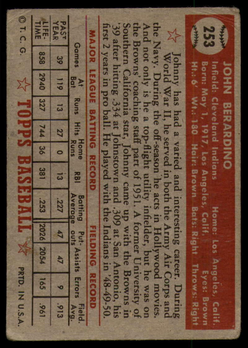 1952-Topps-Baseball-241-407-Complete-your-set-Pick-your-card thumbnail 95