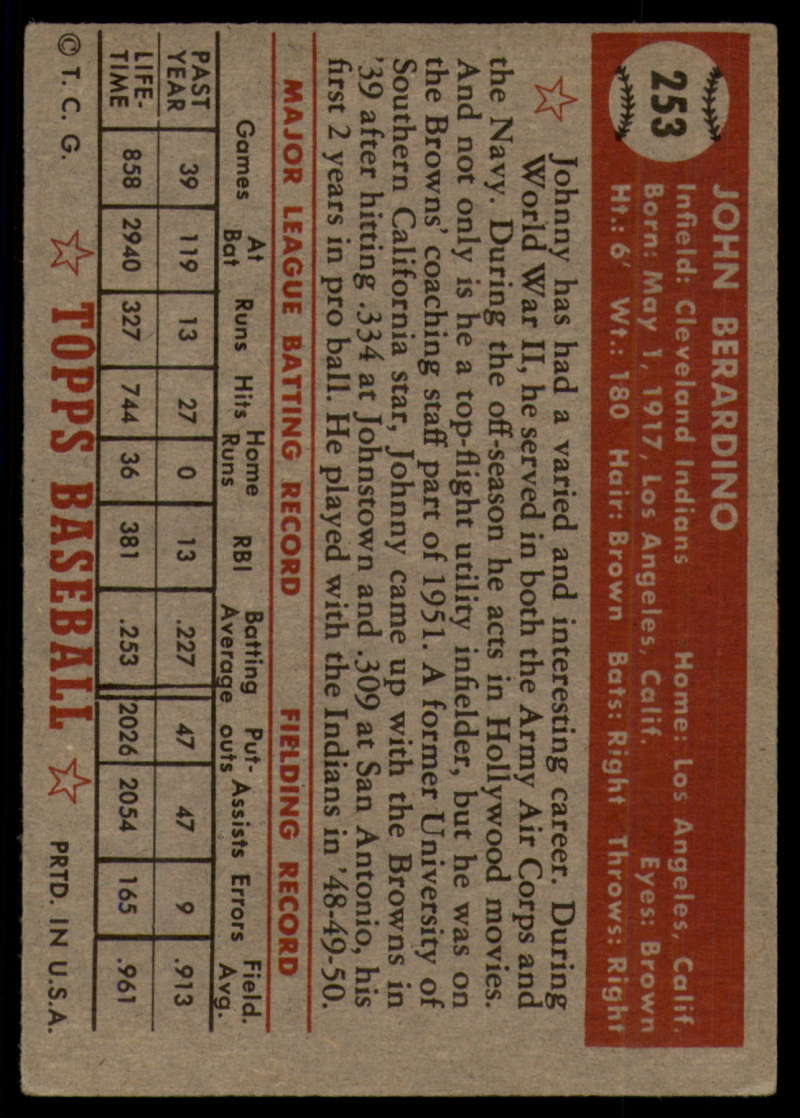 1952-Topps-Baseball-241-407-Complete-your-set-Pick-your-card thumbnail 97