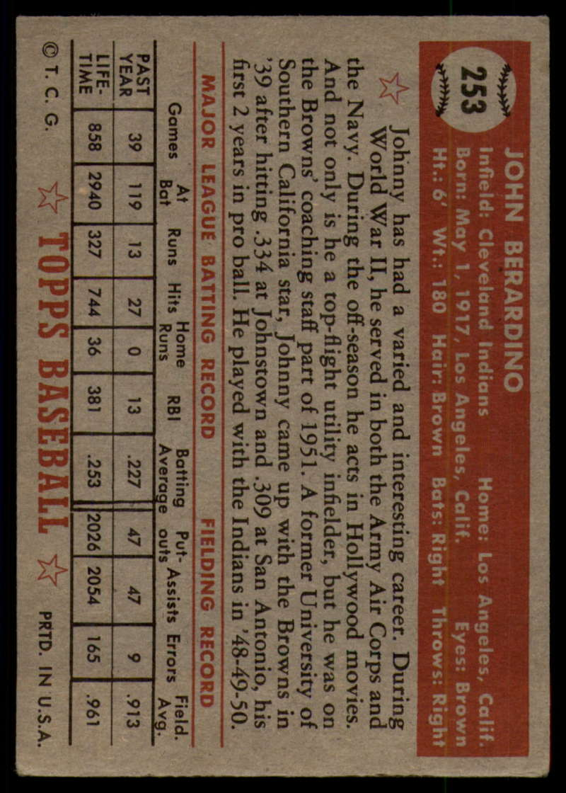 1952-Topps-Baseball-241-407-Complete-your-set-Pick-your-card thumbnail 99