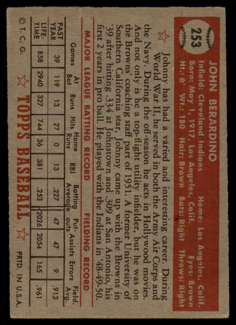 1952-Topps-Baseball-241-407-Complete-your-set-Pick-your-card thumbnail 101