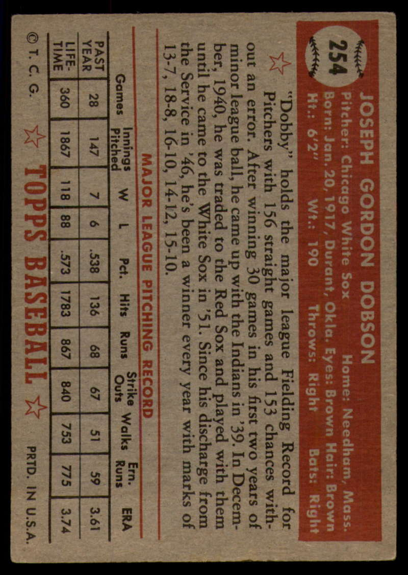 1952-Topps-Baseball-241-407-Complete-your-set-Pick-your-card thumbnail 103