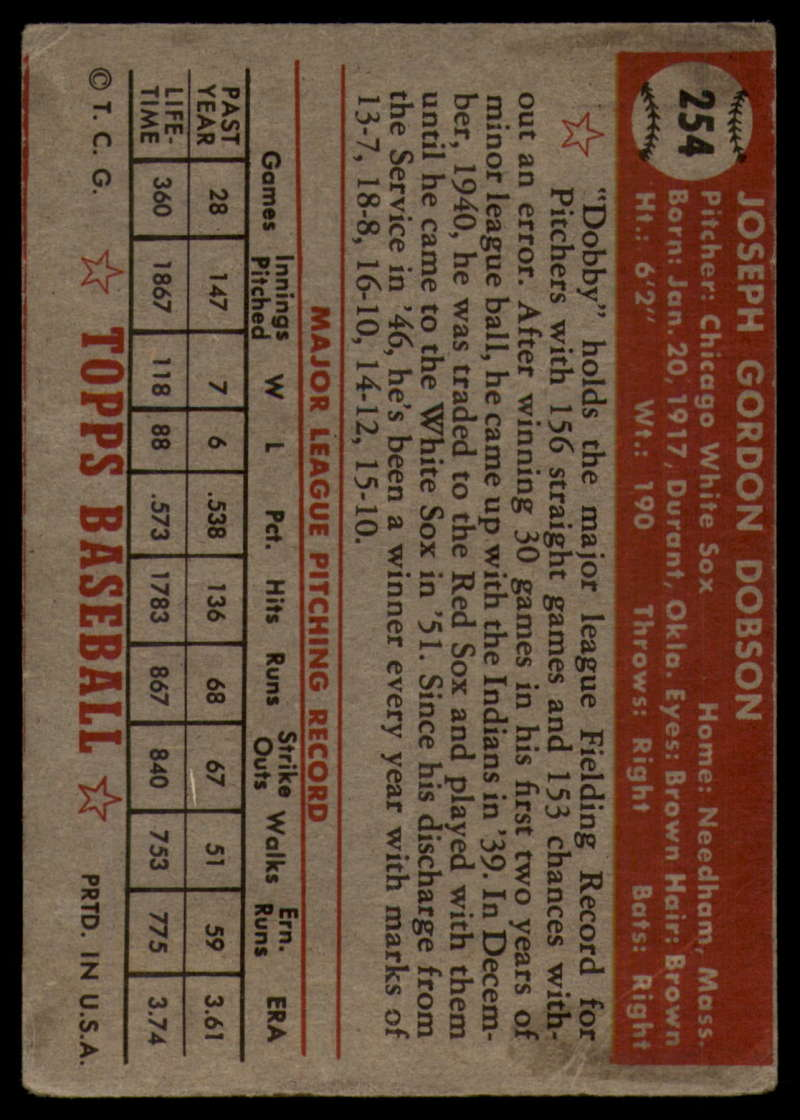 1952-Topps-Baseball-241-407-Complete-your-set-Pick-your-card thumbnail 107
