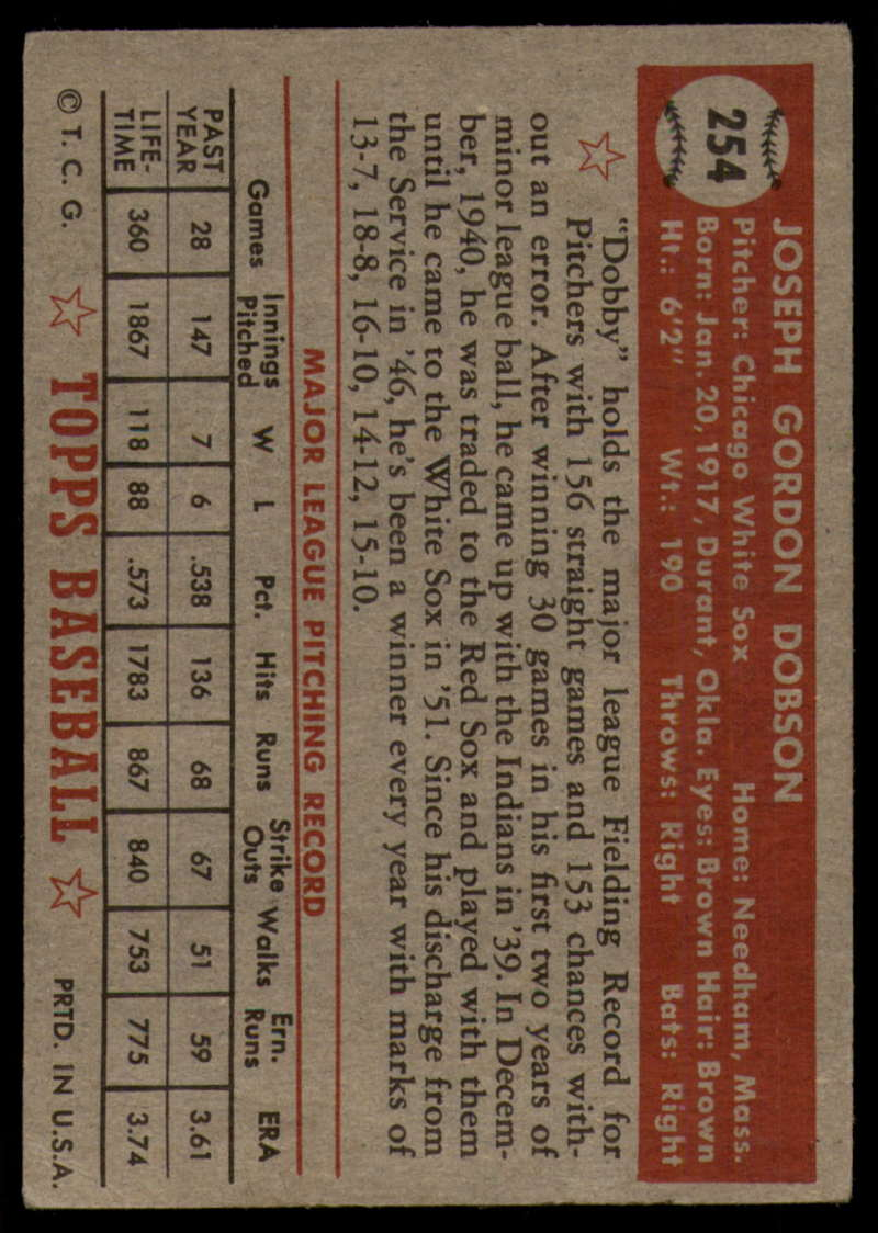 1952-Topps-Baseball-241-407-Complete-your-set-Pick-your-card thumbnail 111