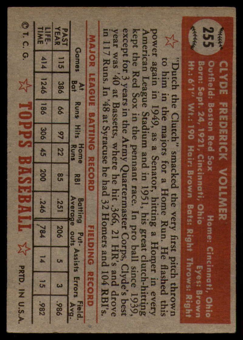 1952-Topps-Baseball-241-407-Complete-your-set-Pick-your-card thumbnail 115