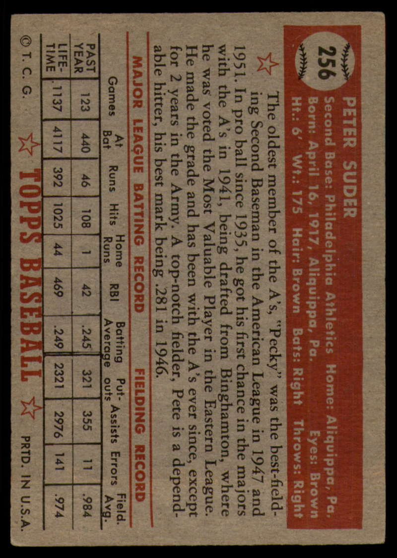 1952-Topps-Baseball-241-407-Complete-your-set-Pick-your-card thumbnail 117