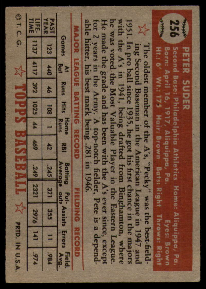 1952-Topps-Baseball-241-407-Complete-your-set-Pick-your-card thumbnail 119
