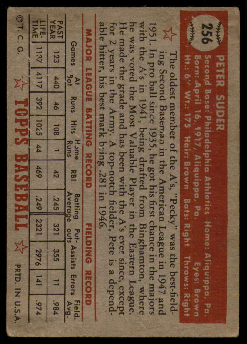 1952-Topps-Baseball-241-407-Complete-your-set-Pick-your-card thumbnail 123