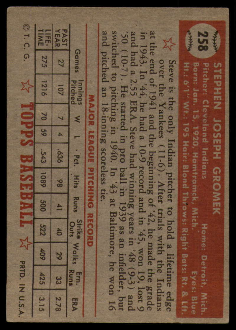 1952-Topps-Baseball-241-407-Complete-your-set-Pick-your-card thumbnail 133