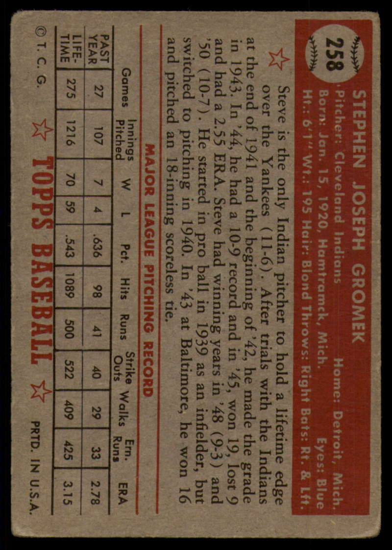 1952-Topps-Baseball-241-407-Complete-your-set-Pick-your-card thumbnail 135
