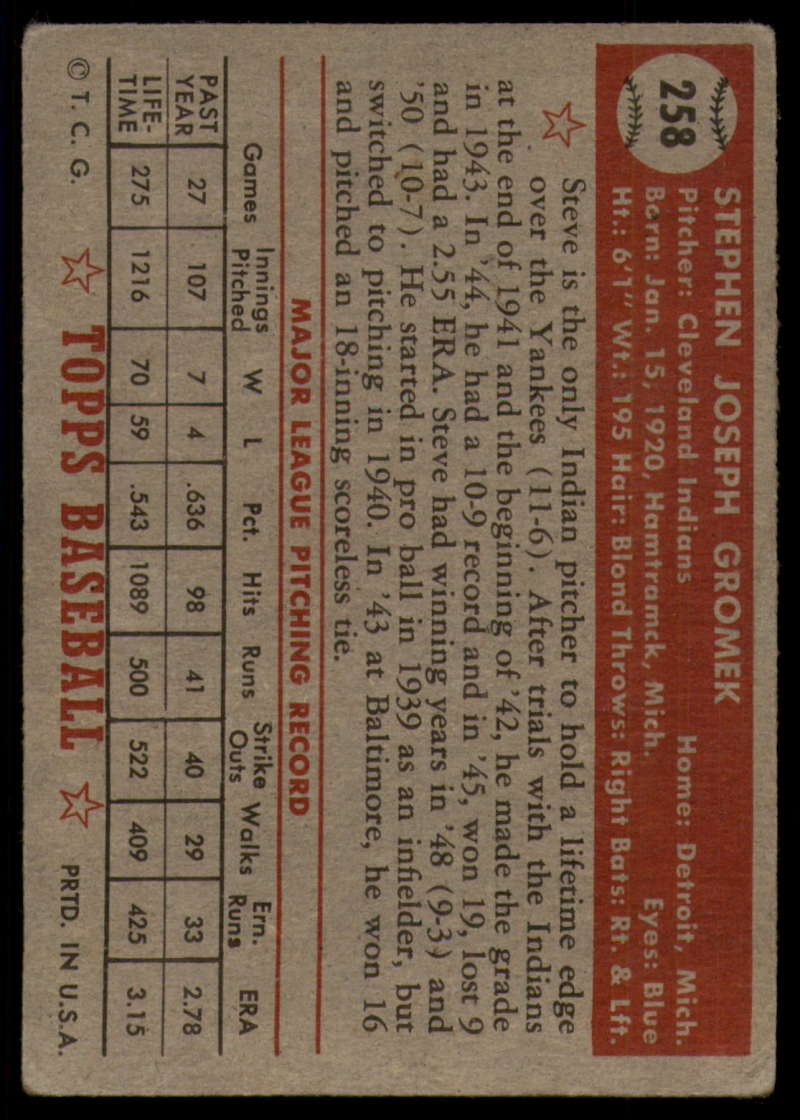 1952-Topps-Baseball-241-407-Complete-your-set-Pick-your-card thumbnail 137