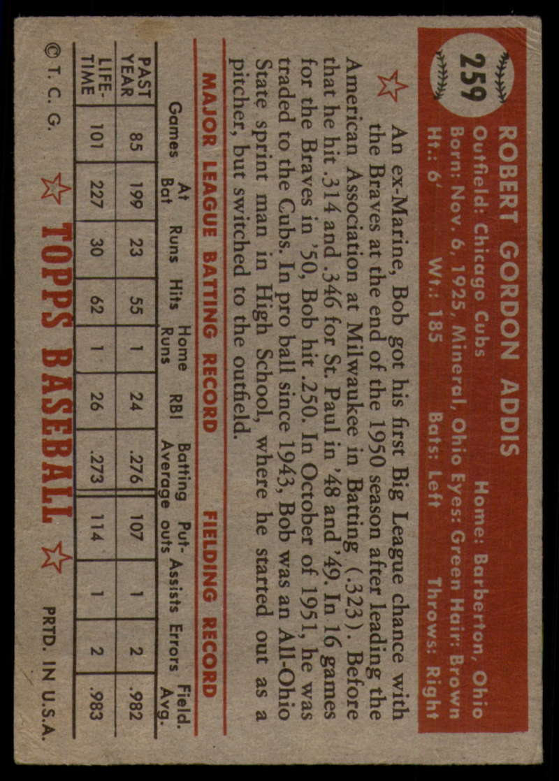 1952-Topps-Baseball-241-407-Complete-your-set-Pick-your-card thumbnail 141