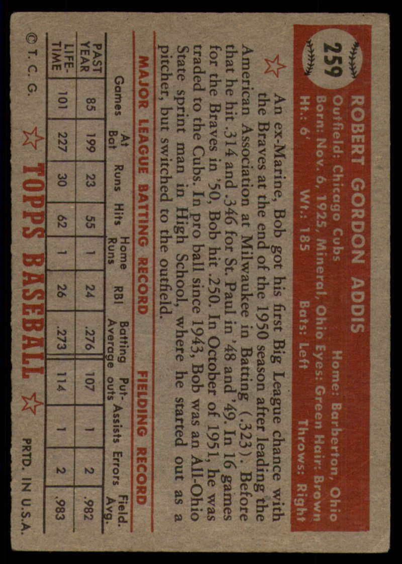 1952-Topps-Baseball-241-407-Complete-your-set-Pick-your-card thumbnail 143