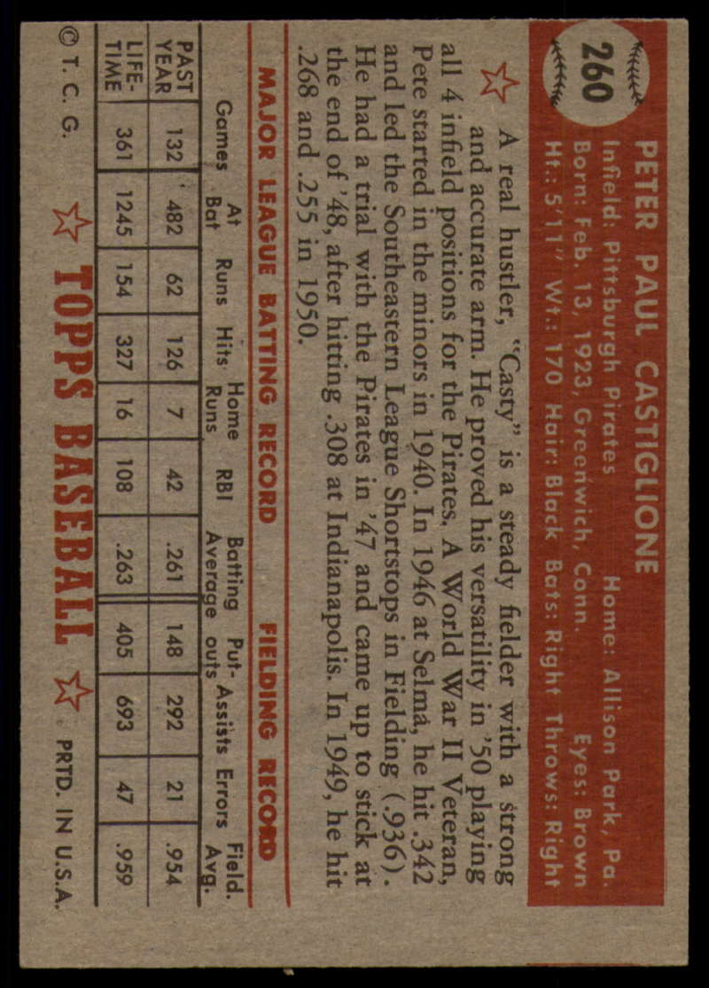 1952-Topps-Baseball-241-407-Complete-your-set-Pick-your-card thumbnail 147