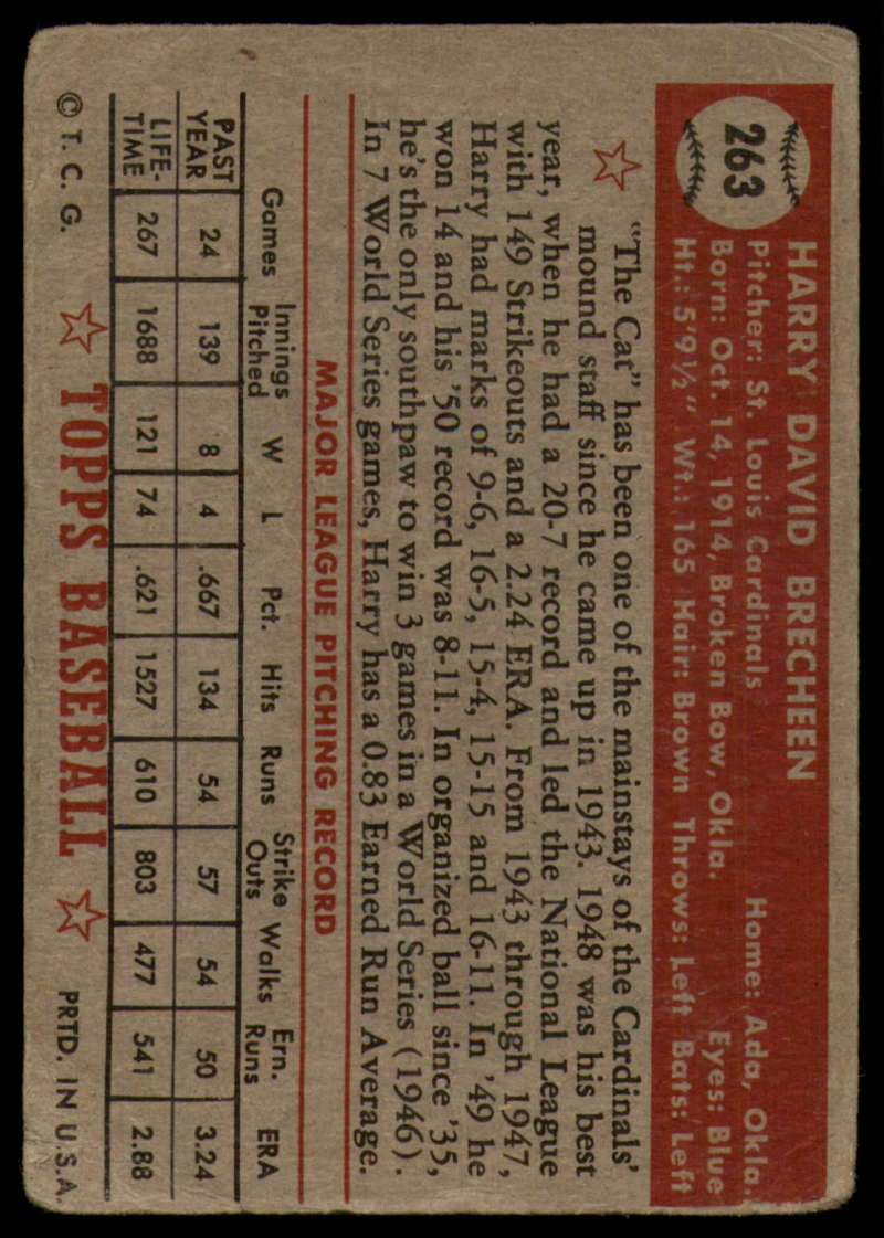 1952-Topps-Baseball-241-407-Complete-your-set-Pick-your-card thumbnail 153