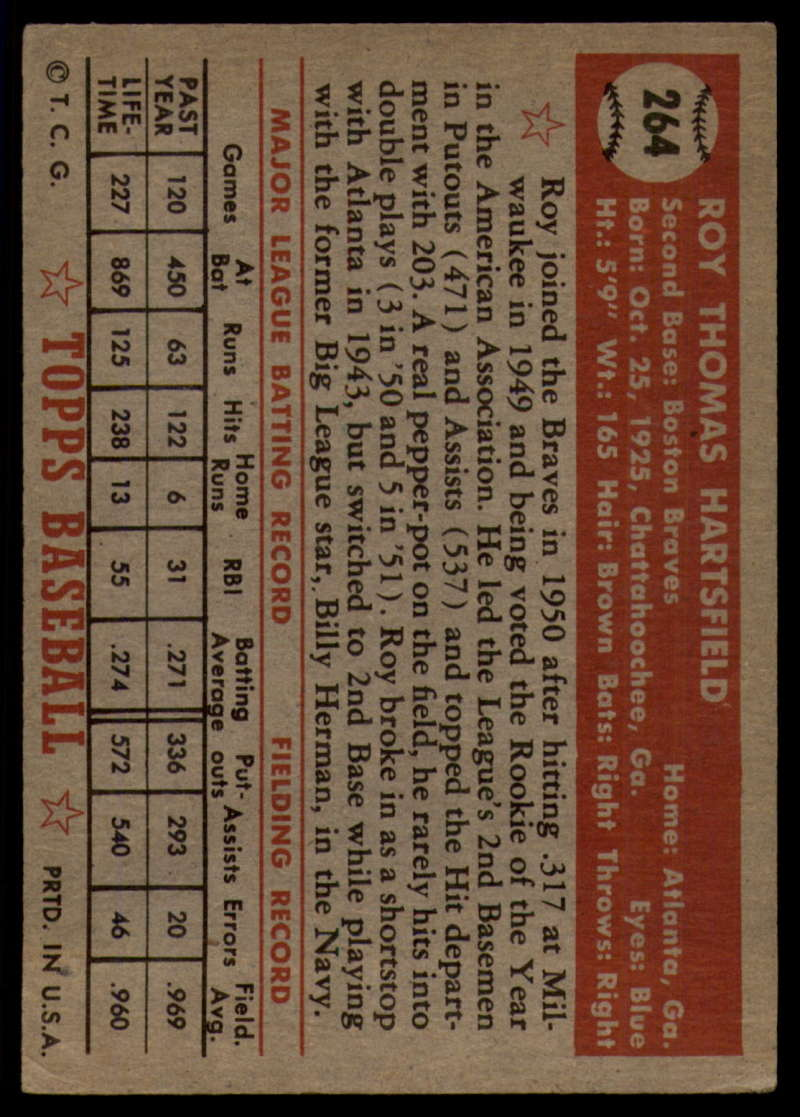 1952-Topps-Baseball-241-407-Complete-your-set-Pick-your-card thumbnail 155