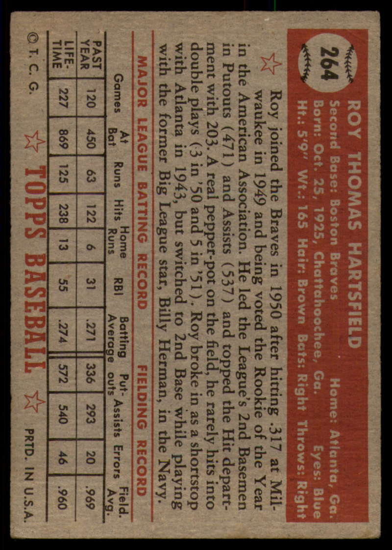 1952-Topps-Baseball-241-407-Complete-your-set-Pick-your-card thumbnail 157