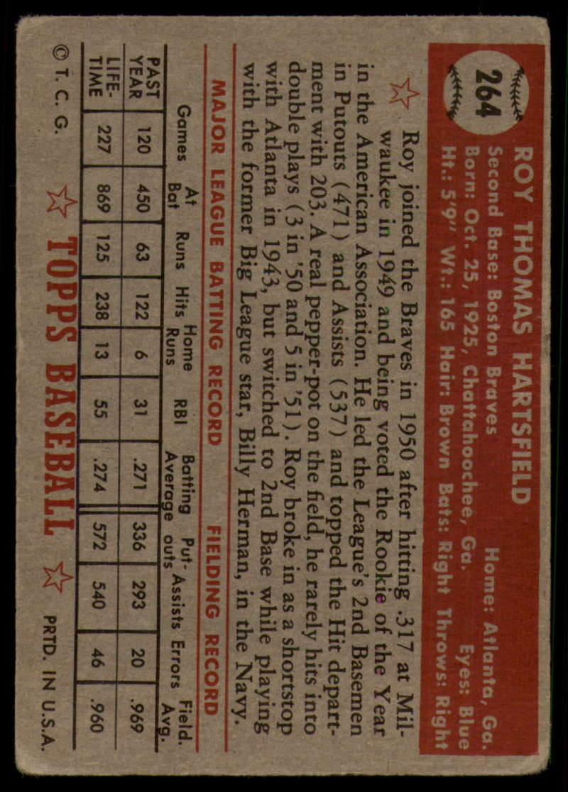 1952-Topps-Baseball-241-407-Complete-your-set-Pick-your-card thumbnail 159