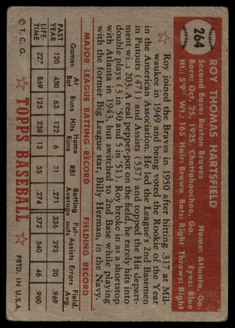 1952-Topps-Baseball-241-407-Complete-your-set-Pick-your-card thumbnail 161