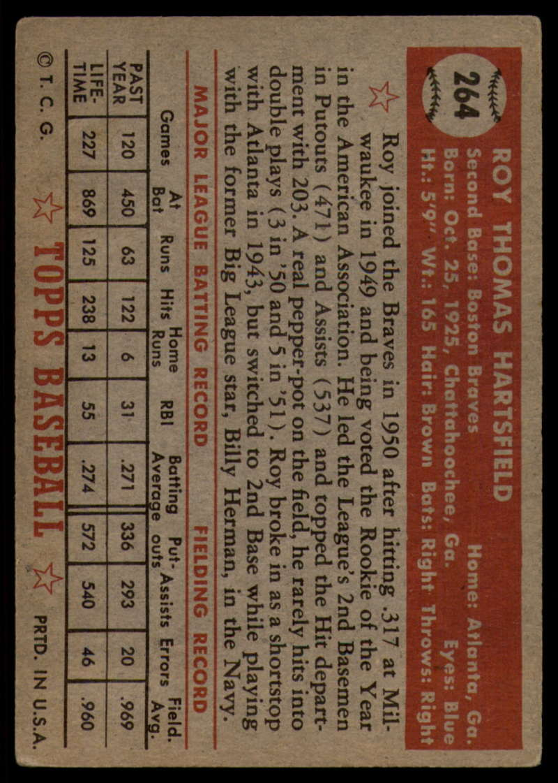 1952-Topps-Baseball-241-407-Complete-your-set-Pick-your-card thumbnail 163