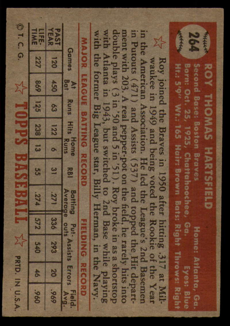 1952-Topps-Baseball-241-407-Complete-your-set-Pick-your-card thumbnail 165