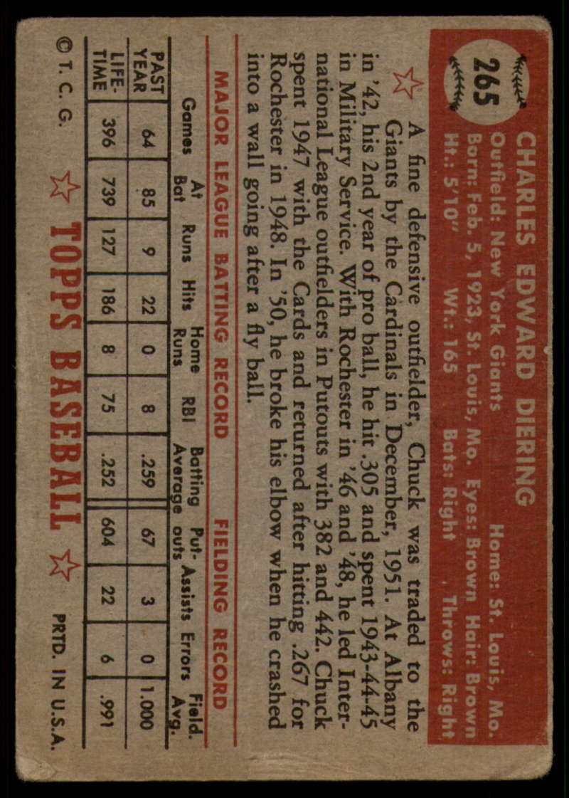 1952-Topps-Baseball-241-407-Complete-your-set-Pick-your-card thumbnail 167