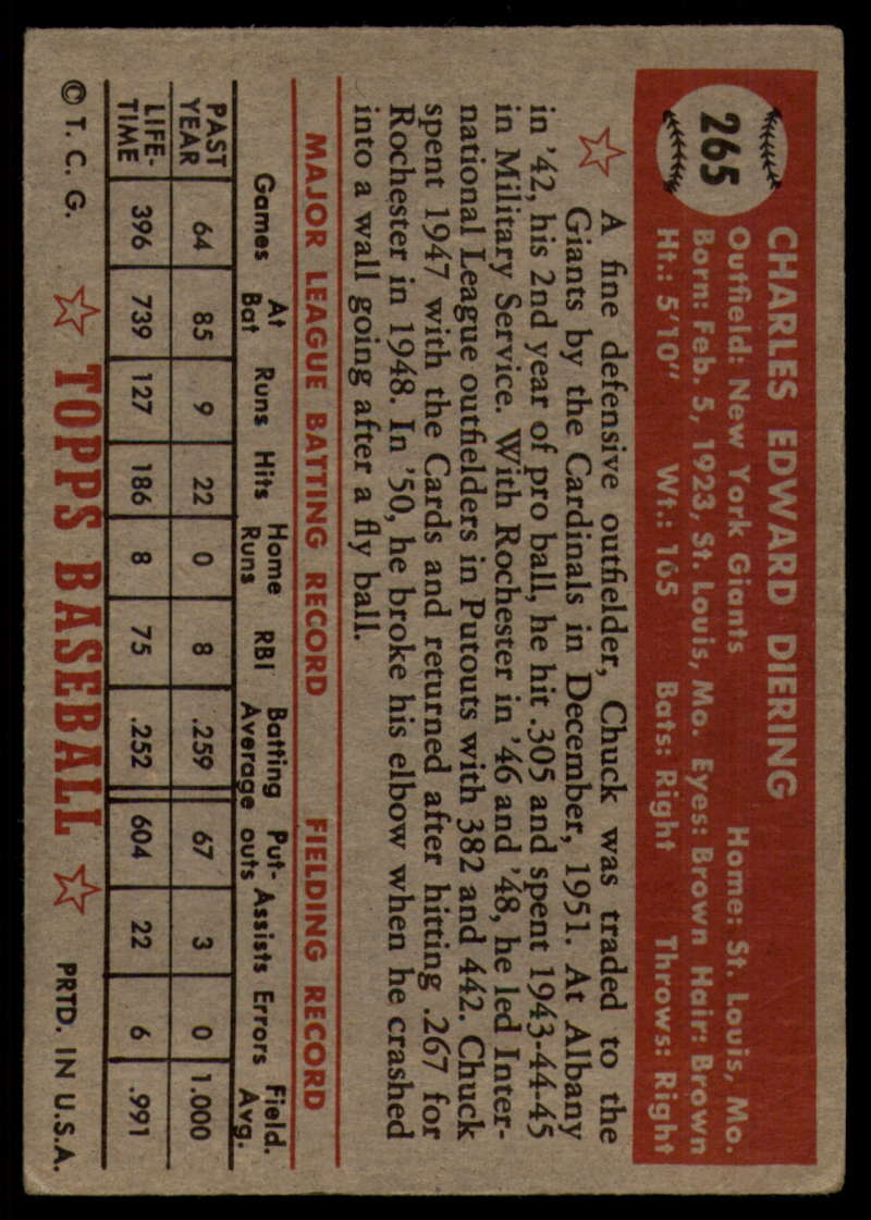 1952-Topps-Baseball-241-407-Complete-your-set-Pick-your-card thumbnail 169
