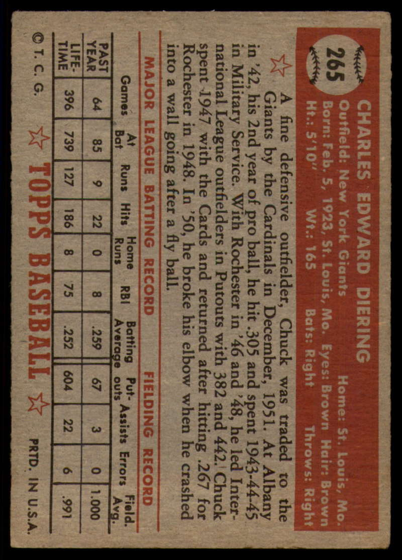 1952-Topps-Baseball-241-407-Complete-your-set-Pick-your-card thumbnail 173