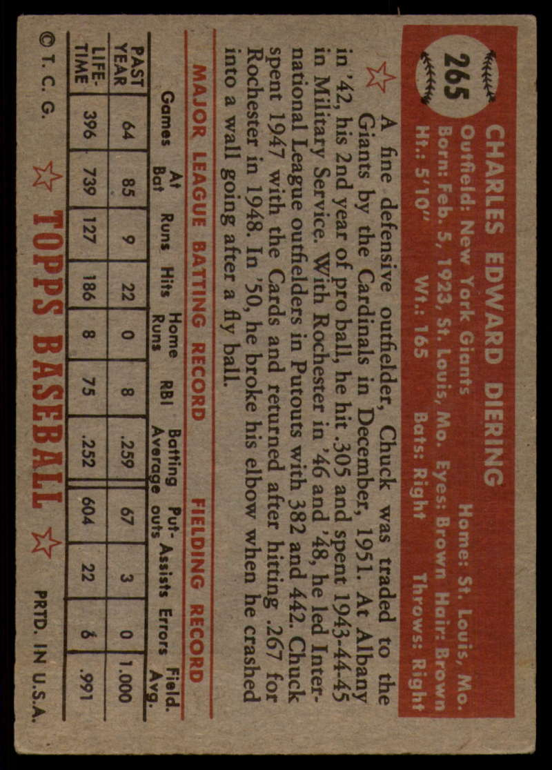 1952-Topps-Baseball-241-407-Complete-your-set-Pick-your-card thumbnail 175