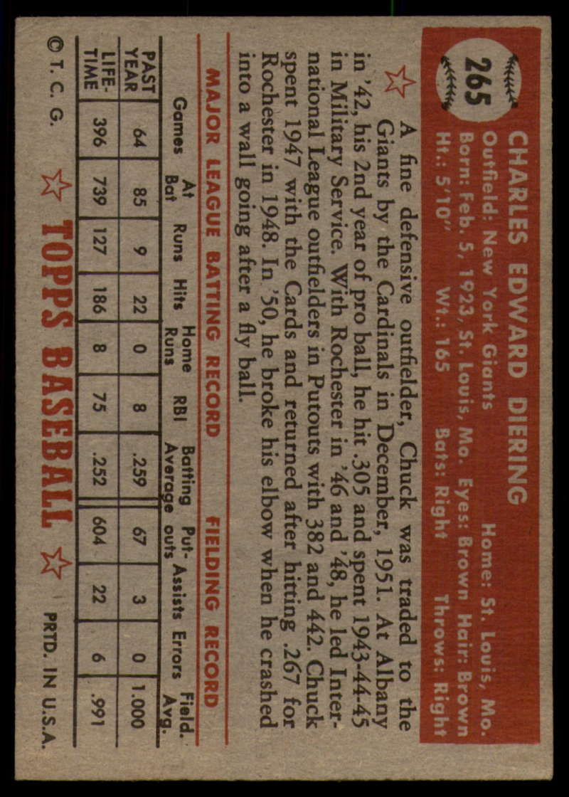 1952-Topps-Baseball-241-407-Complete-your-set-Pick-your-card thumbnail 177