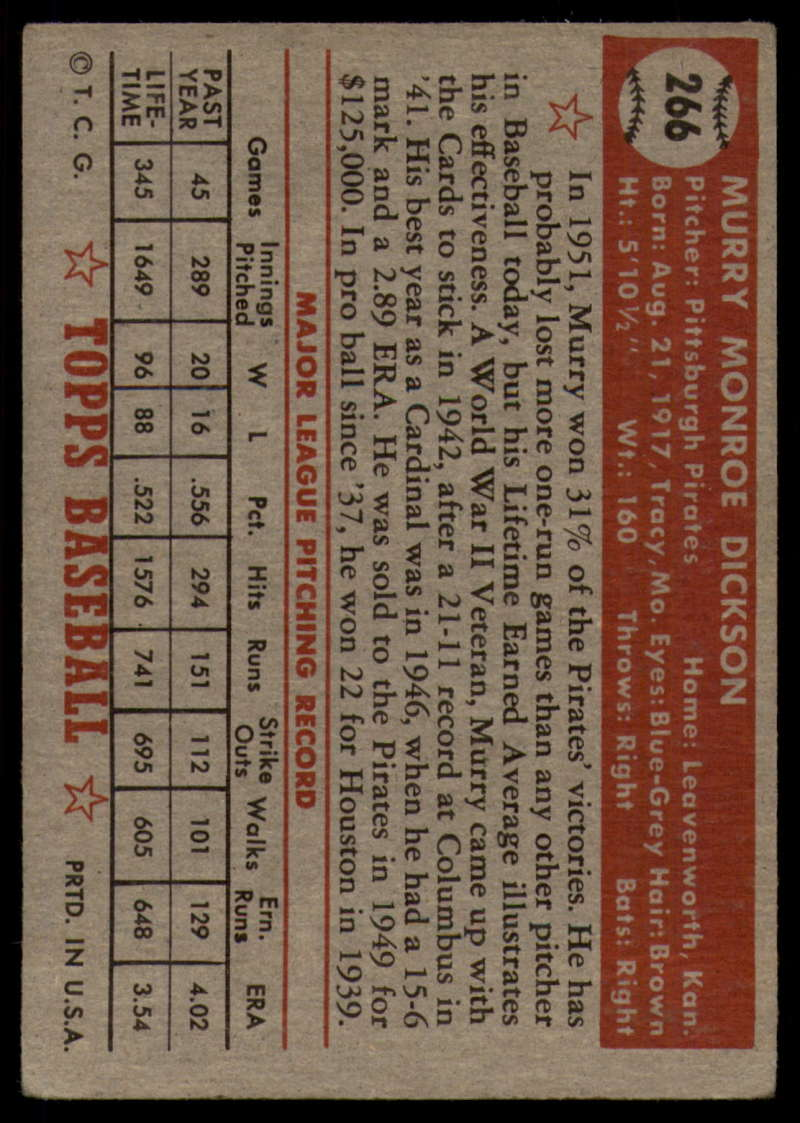 1952-Topps-Baseball-241-407-Complete-your-set-Pick-your-card thumbnail 189