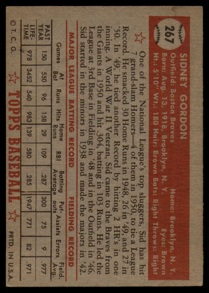 1952-Topps-Baseball-241-407-Complete-your-set-Pick-your-card thumbnail 191