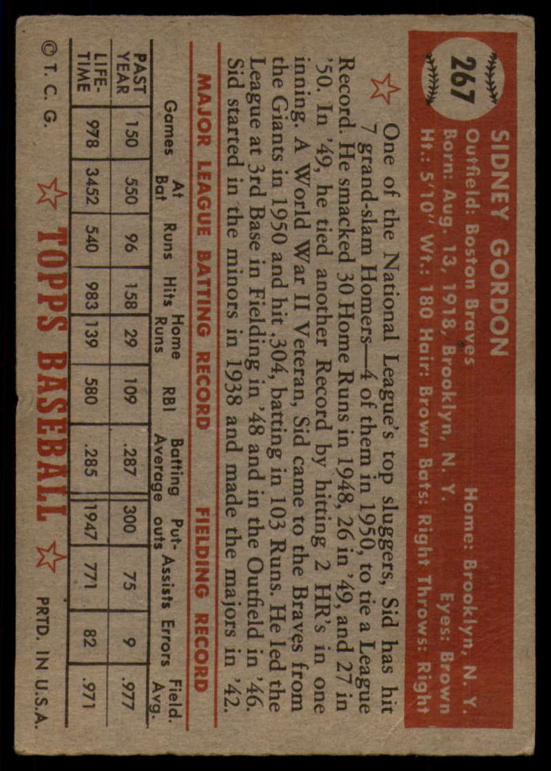 1952-Topps-Baseball-241-407-Complete-your-set-Pick-your-card thumbnail 195