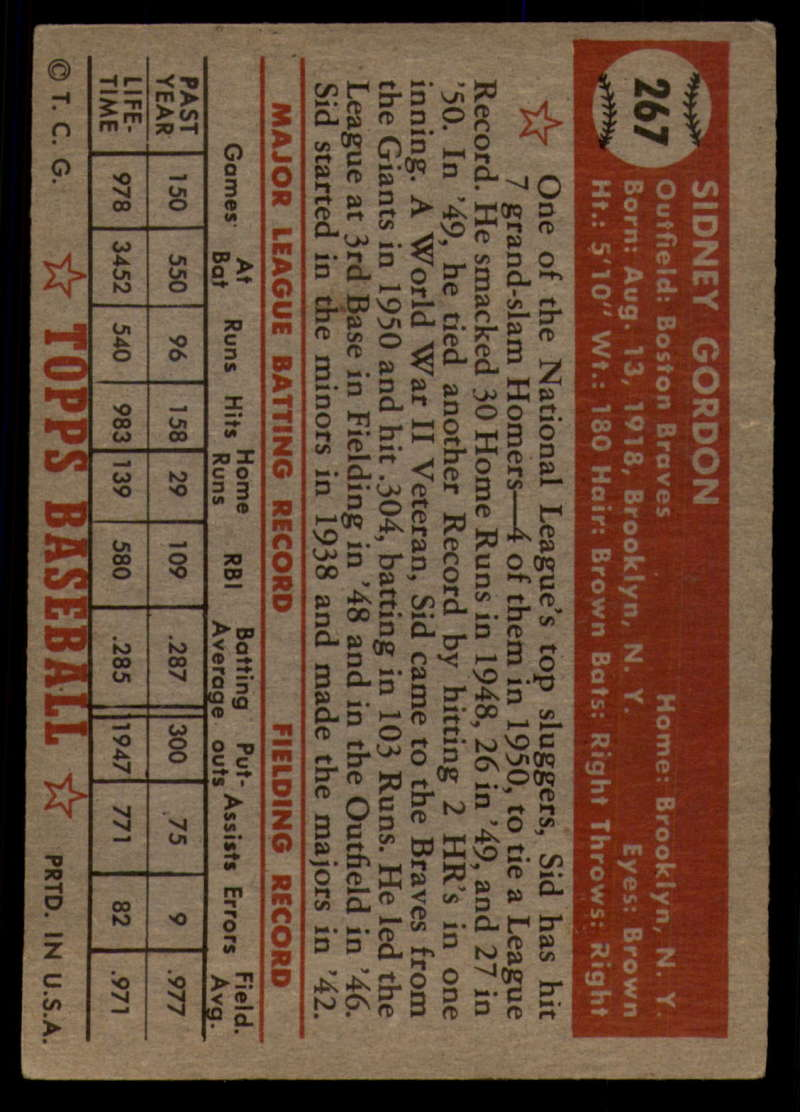 1952-Topps-Baseball-241-407-Complete-your-set-Pick-your-card thumbnail 197